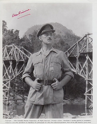ALEC GUINNESS Signed Photo