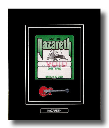 Nazareth Original 1981 Concert Pass (62676)