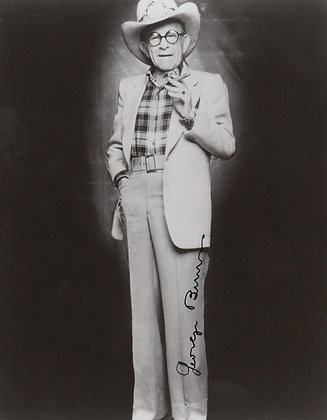 GEORGE BURNS Signed Photo