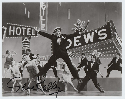GENE KELLY Signed Photo