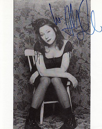 HOLLY COLE Signed Photo