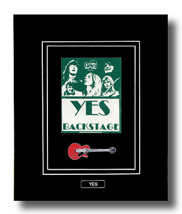 YES Original 1979 Backstage Concert Pass (62644)