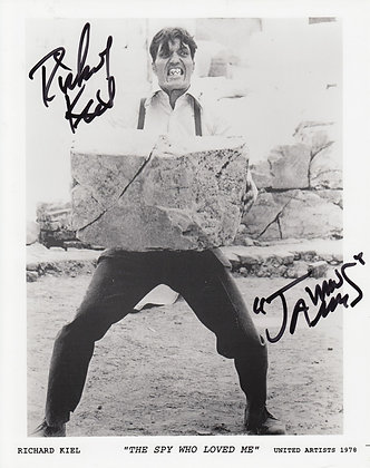RICHARD KIEL Signed Photo