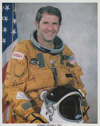 NASA ASTRONAUT Richard Truly