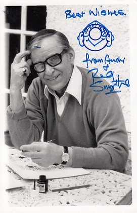 REG SMYTHE (ANDY CAPP) Signed Photo