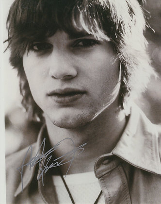 ASHTON KUTCHER Signed Photo