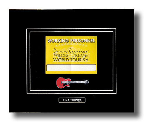 Tina Turner Original 1996 Concert Pass (62651)