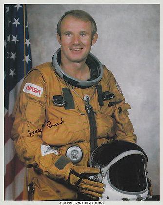 NASA ASTRONAUT Vance Brand