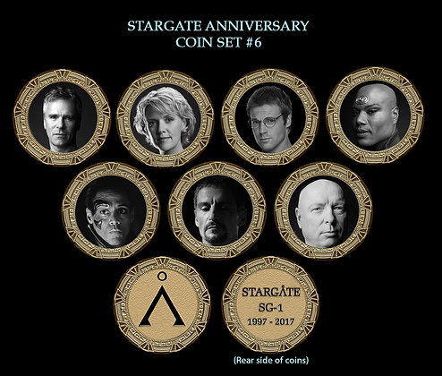 Stargate Coin Set #6