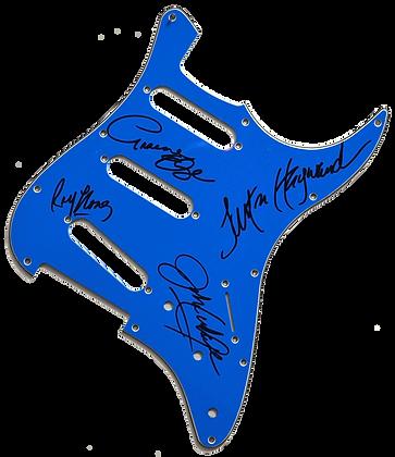 MOODY BLUES  Signed Pickguard