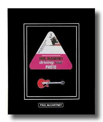 Paul McCartney Original 2002 Concert Pass (62657)