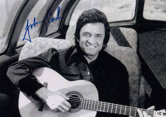 JOHNNY CASH Signed Photo