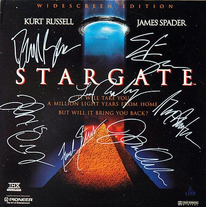 STARGATE Signed Laserdisc Sleeve