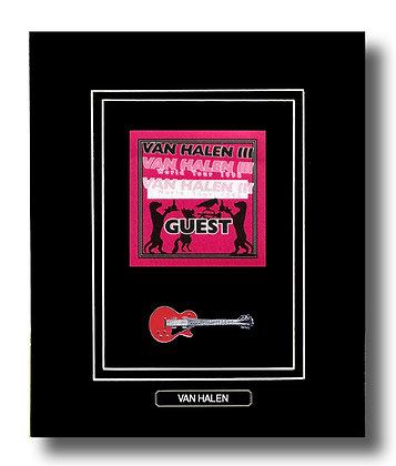 Van Halen Original 1998 Concert Pass (62640)