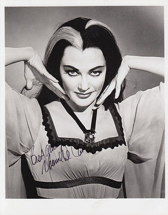 YVONNE DeCARLO Signed Photo