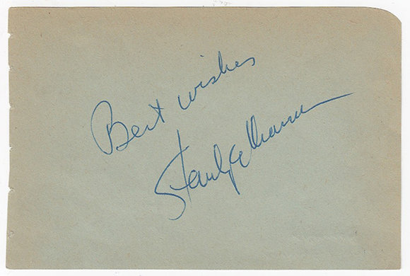 STANLEY KRAMER Autograph
