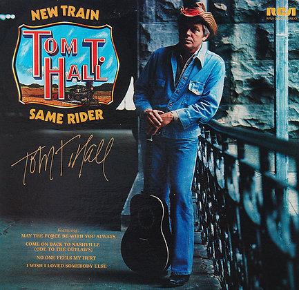 TOM T. HALL Signed LP Sleeve