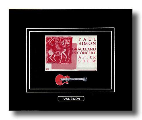 Paul Simon Original 1987 Concert Pass (62645)