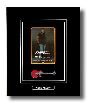 Willie Nelson Original 1981 Concert Pass (62675)