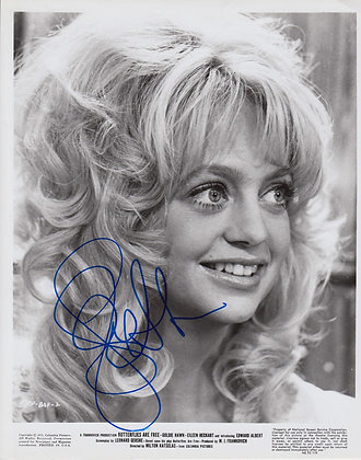GOLDIE HAWN Signed Photo