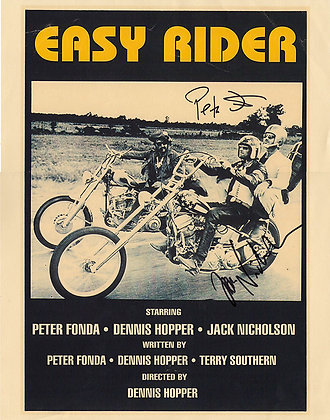EASY RIDER Signed Photo