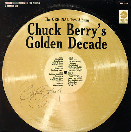 CHUCK BERRY Signed LP Sleeve
