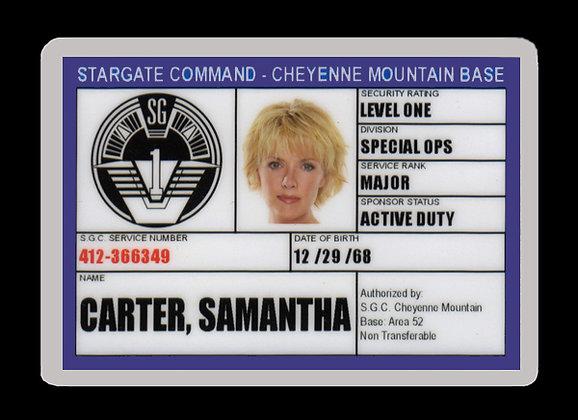 Carter SGC ID Card
