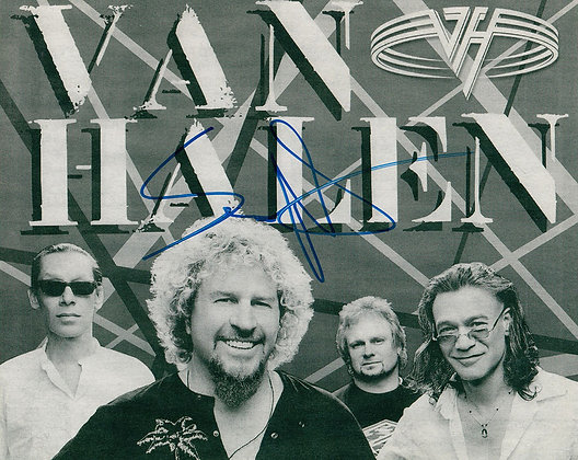 SAMMY HAGAR Signed Photo