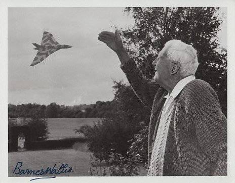 SIR BARNES WALLIS Signed Photo