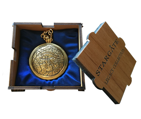 'RA' Pendant - Gold