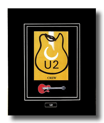 U2 Original Backstage Concert Pass (62652)