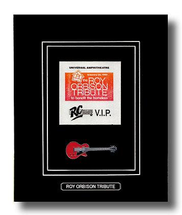 Roy Orbison Tribute Original Concert Pass (62679)
