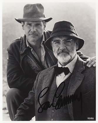 SEAN CONNERY Signed Photo