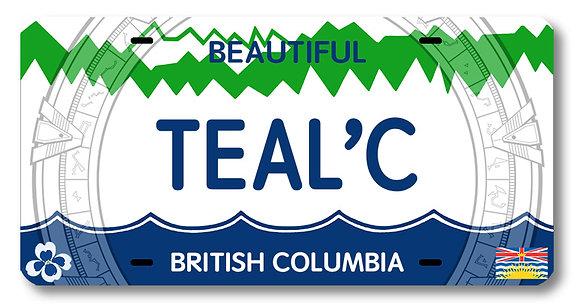 TEAL'C License Plate!