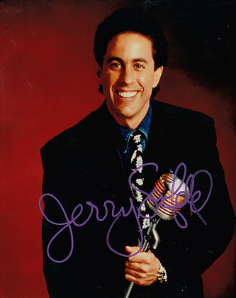JERRY SEINFELD Signed Photo