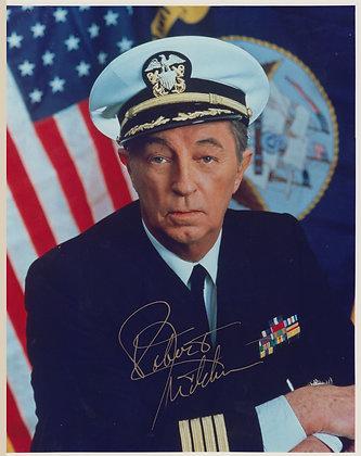 ROBERT MITCHUM Signed Photo