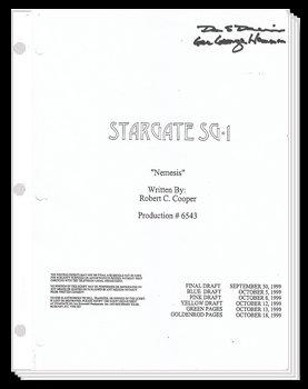 'Nemesis' Script