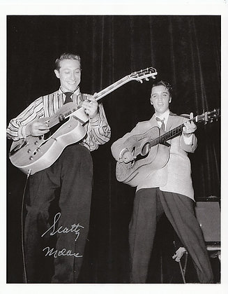 SCOTTY MOORE Signed Photo