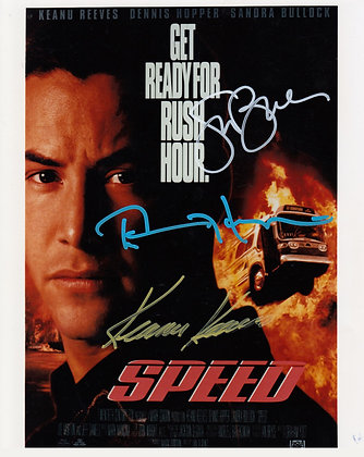 SPEED SIGNED Cast Signed Photo