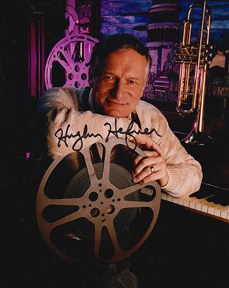 HUGH HEFNER Signed Photo