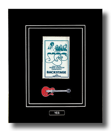YES Original 1979 Backstage Concert Pass (62643)
