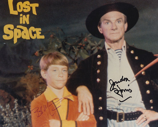 LOST IN SPACE Signed Photo