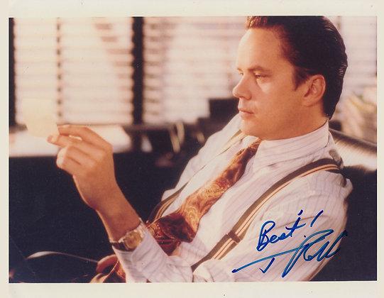 TIM ROBBINS Signed Photo