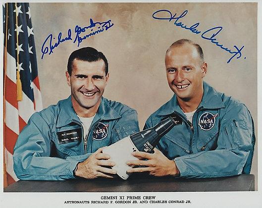 NASA GEMINI 11 Crew Signed