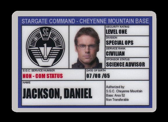Jackson SGC ID Card