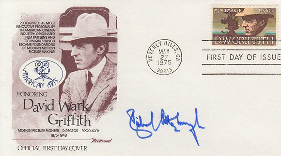 RICHARD ATTENBOROUGH Signed Postal Cover