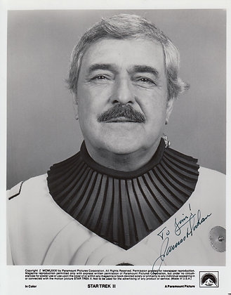 JAMES DOOHAN Signed Photo