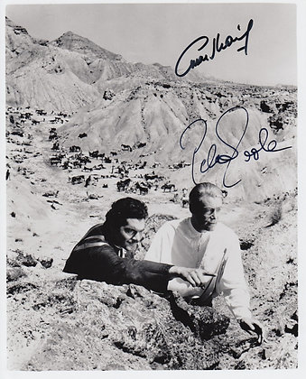 LAWRENCE OF ARABIA Signed Photo