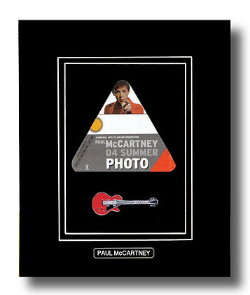 Paul McCartney Original 2004 Concert Pass (62660)