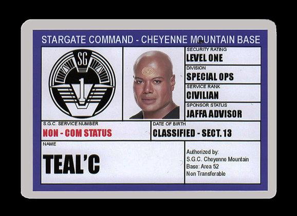 Teal'c SGC ID Card